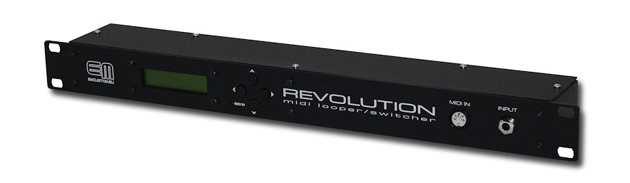 Revolution. 10 section midi looper. Rack 1U